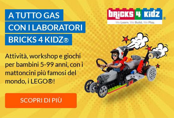 A tutto gas con i Laboratori Bricks4Kidz®