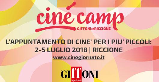 cinécamp - l'appuntamento di ciné per i più piccoli - 2-5 luglio 2018