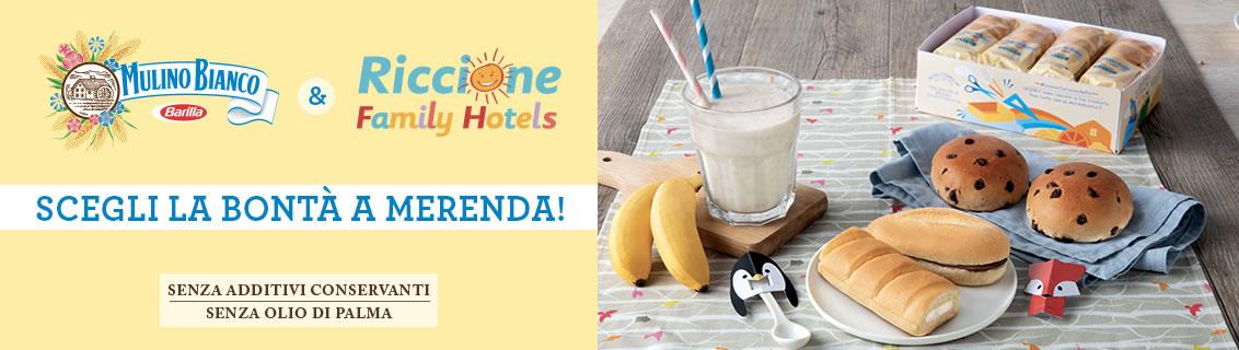 Le vacanze nei nostri hotel hanno più gusto grazie a Mulino bianco!