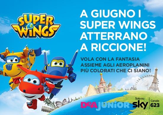 Super Wings a Riccione