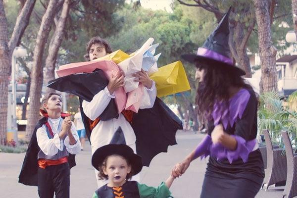 Halloween nei Riccione Family Hotels