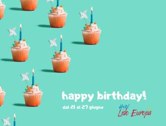 Compleanno Lido Europa - Giugno 2020