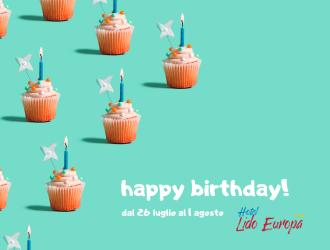 Compleanno Lido Europa - Luglio 2020
