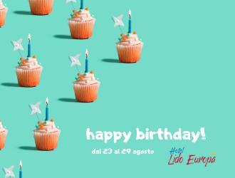 Compleanno Lido Europa - Agosto 2020